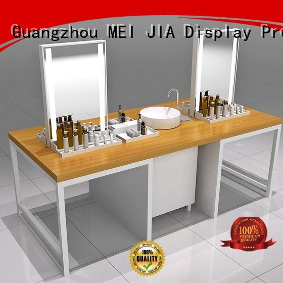 MEI JIA Display Best acrylic cosmetic display stand supply for exclusive shop