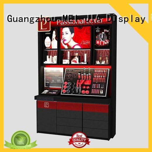 MEI JIA Display showcase cosmetic product display for business for exclusive shop