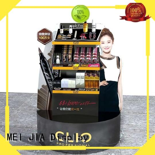 MEI JIA Display Custom cosmetic showcase company for shop