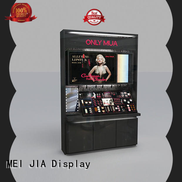 MEI JIA Display New acrylic cosmetic display stand factory for store