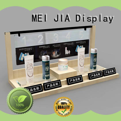 MEI JIA Display beauty retail makeup display stand suppliers for showroom