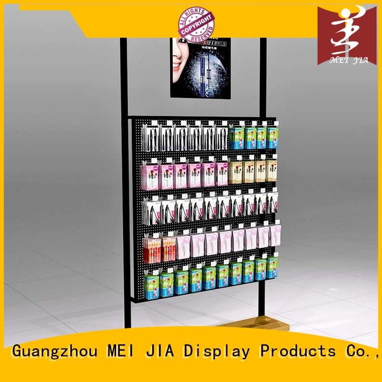 MEI JIA Display body care cosmetics display shelves wall for shoppe