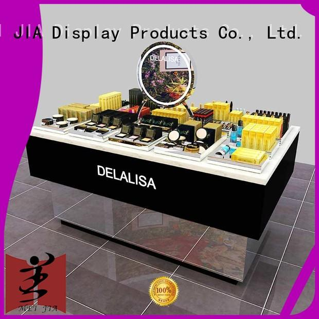 fashional makeup display stand backside manufacturer for store