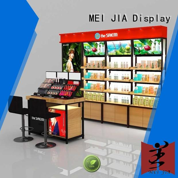 try acrylic display stands cabinet for shoppe MEI JIA Display