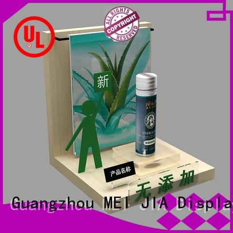 MEI JIA Display acrylic makeup display cabinet manufacturers for counter