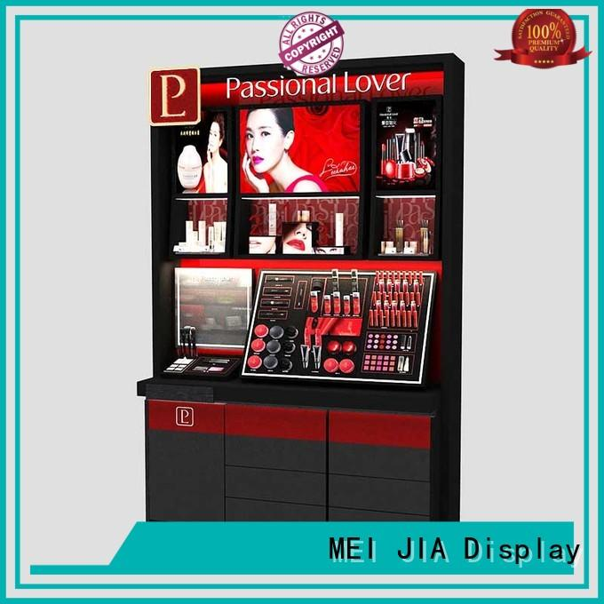 Latest makeup display cabinet skin supply for shoppe