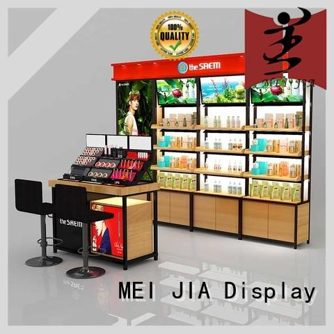 MEI JIA Display Latest cosmetic product display supply for counter