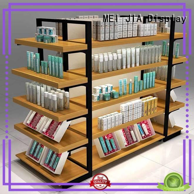 MEI JIA Display wall makeup display cabinet manufacturers for shoppe