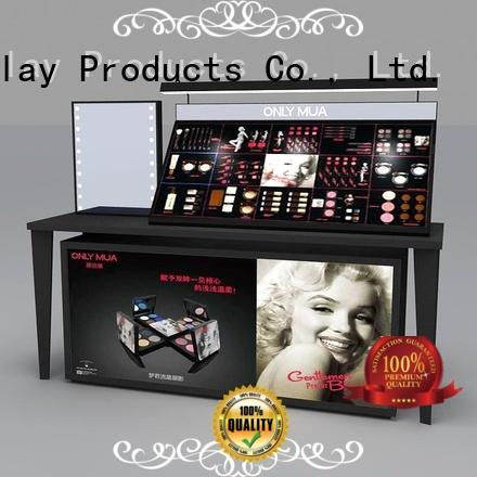 High-quality acrylic cosmetic display stand shelf for business for exclusive shop