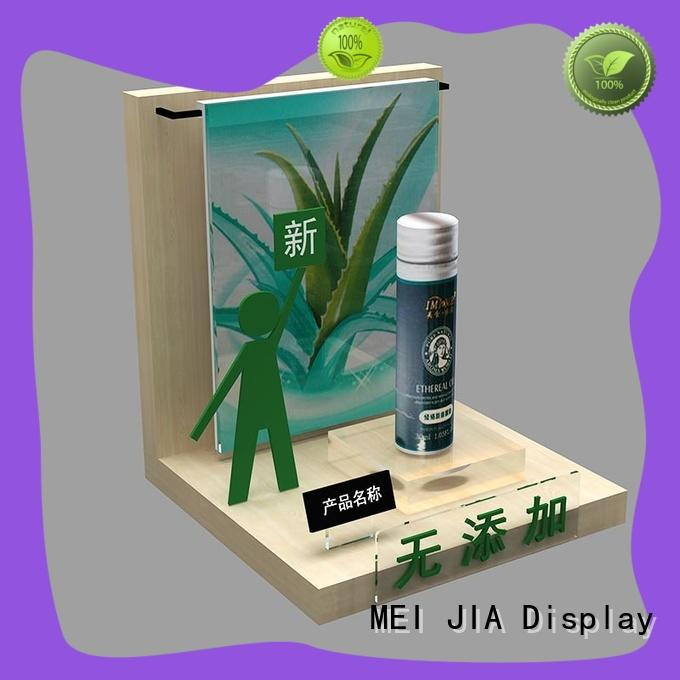 MEI JIA Display High-quality retail makeup display stand suppliers for store