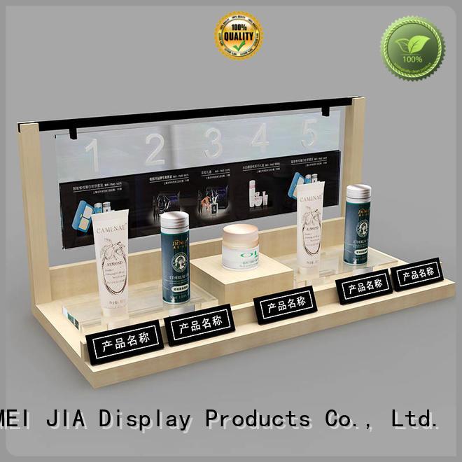 MEI JIA Display hook beauty display stands company for showroom
