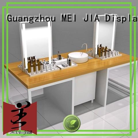 MEI JIA Display customized custom acrylic display cabinet for shoppe