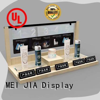 MEI JIA Display Latest acrylic cosmetic display stand factory for store