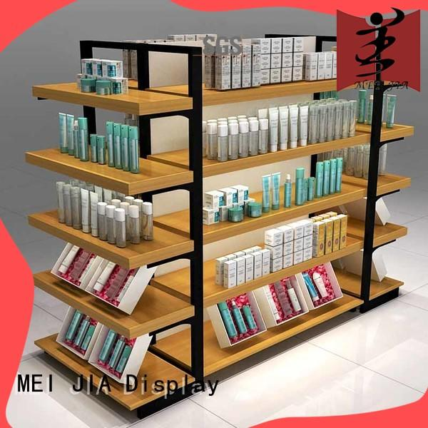 popular makeup retail display wood manufacturer for exclusive shop