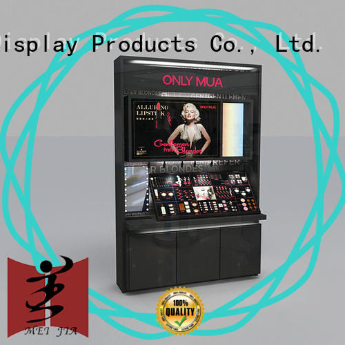 cosmetic makeup store display holder for shoppe MEI JIA Display