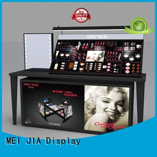MEI JIA Display Custom cosmetic display cabinet suppliers for showroom