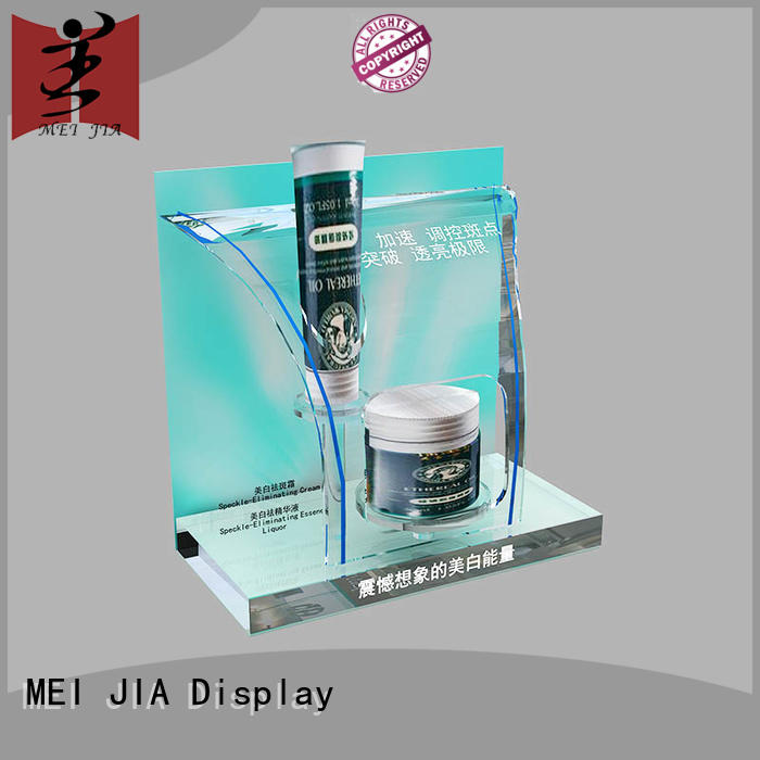 MEI JIA Display beauty makeup display counter manufacturer for showroom