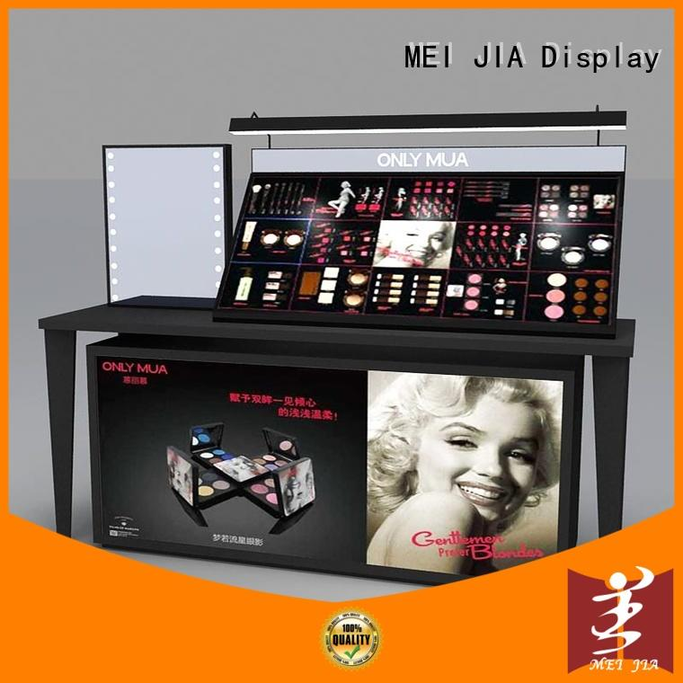 MEI JIA Display counter makeup showcase for brand for showroom