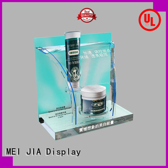 MEI JIA Display cosmetic makeup display stand supply for shoppe