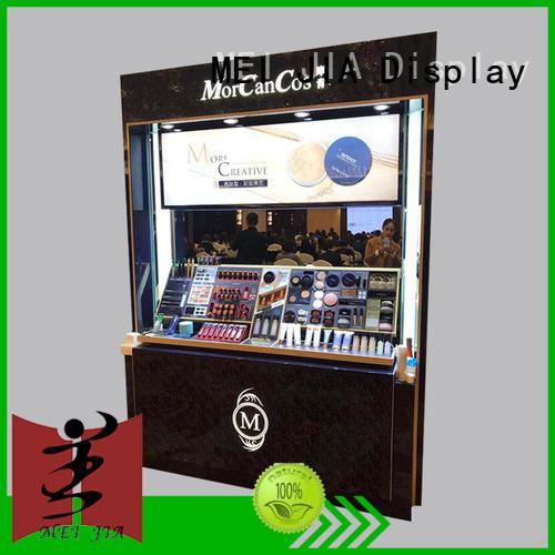 skin makeup retail display manufacturer for shop MEI JIA Display
