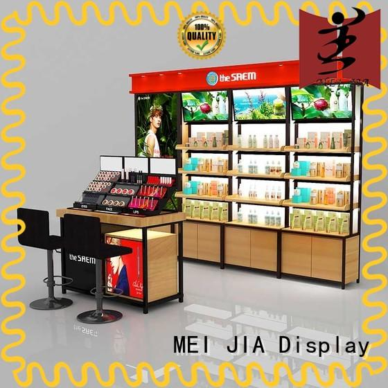 artdeco cosmetic product display cabinet for store