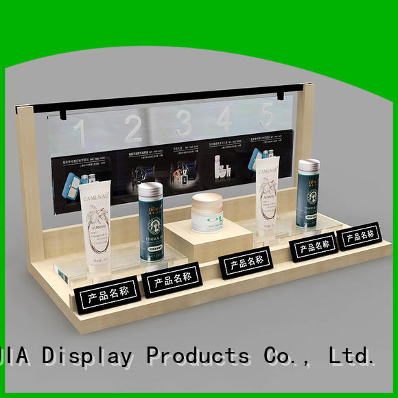 MEI JIA Display Custom acrylic makeup display supply for shop