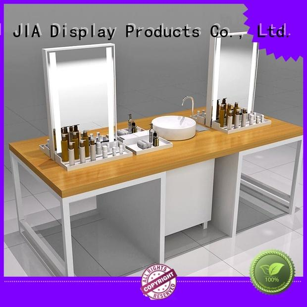 High-quality cosmetic product display shelves factory for store