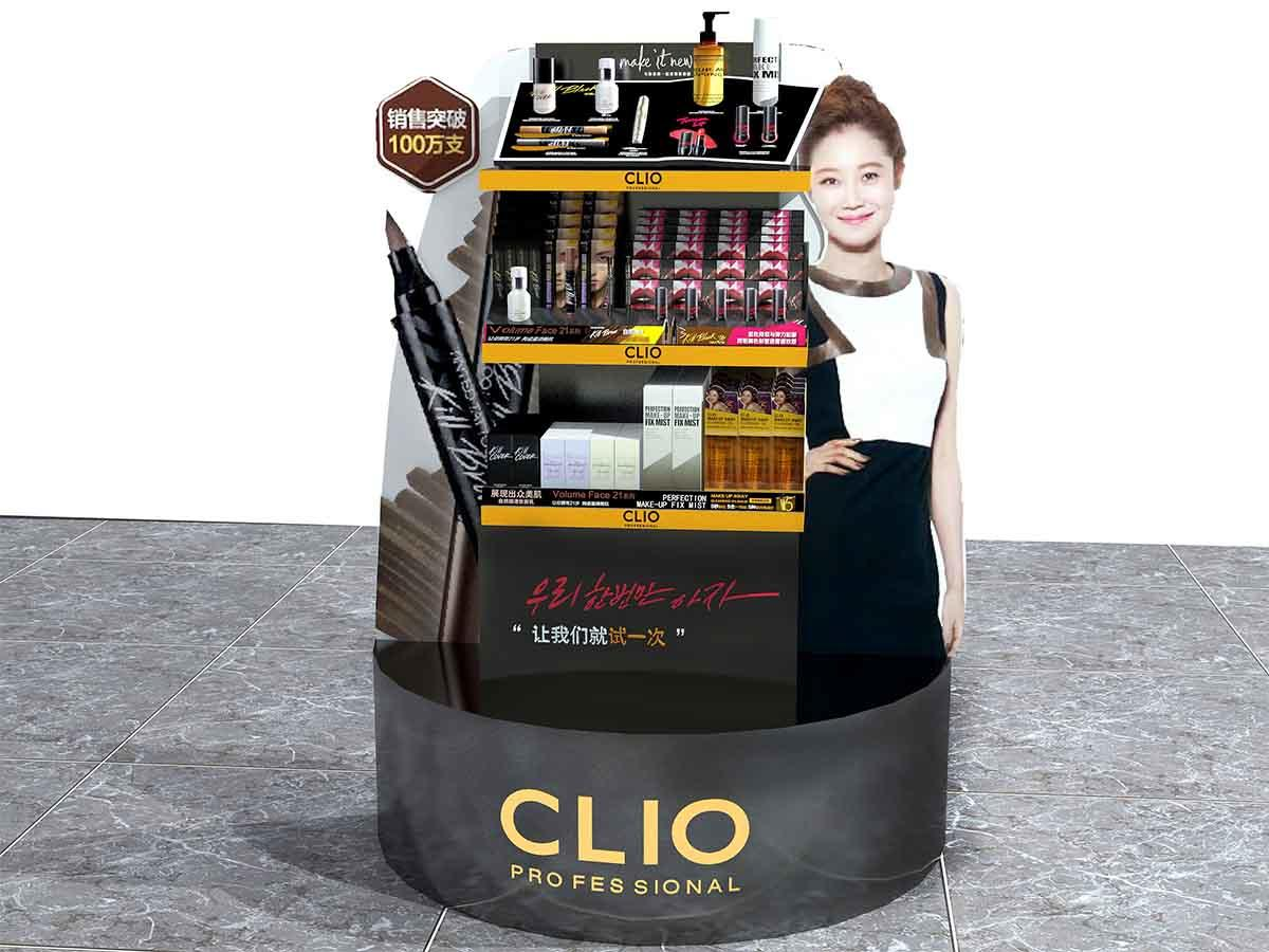 Acrylic Makeup Display Counter-1
