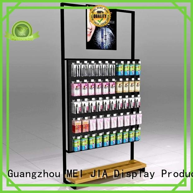 New retail makeup display stand customized supply for showroom