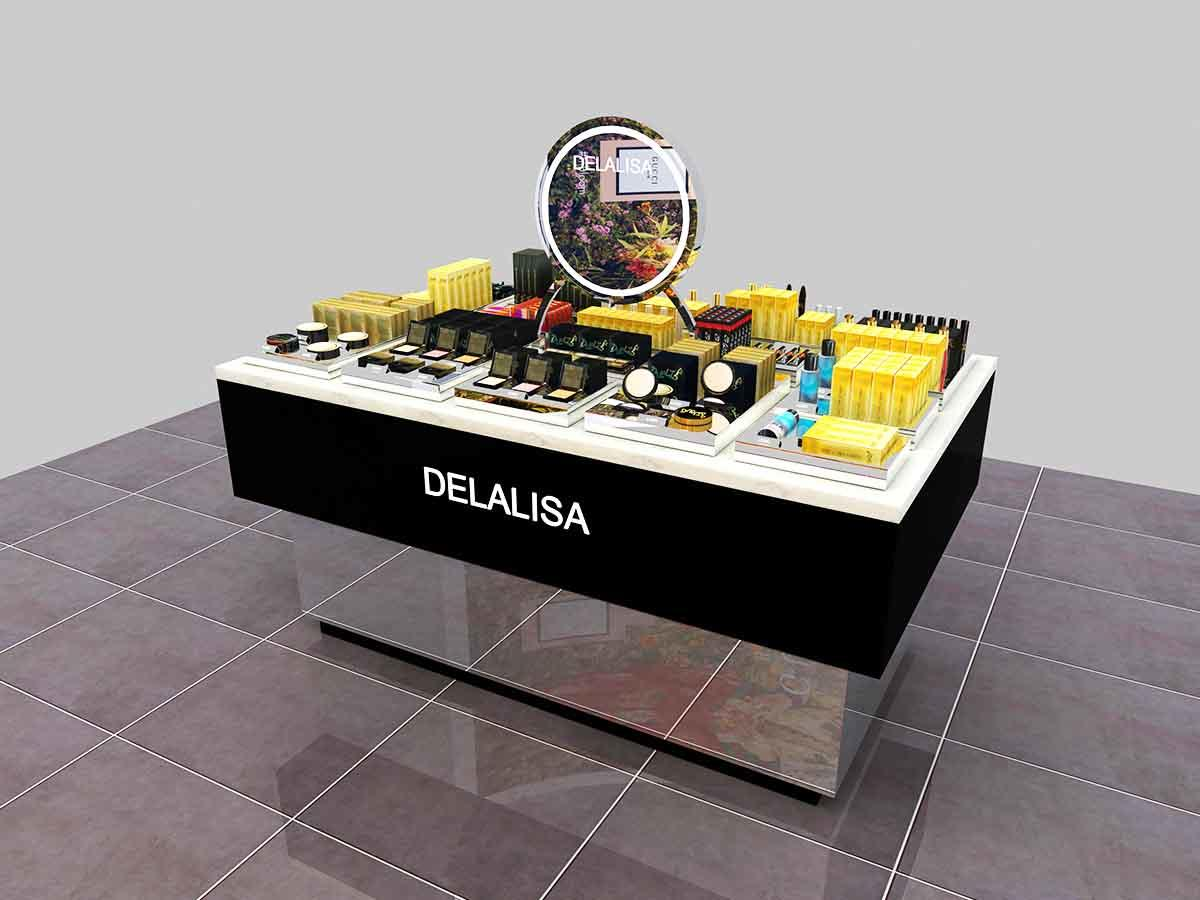 Retail Cosmetic Display Counter-3
