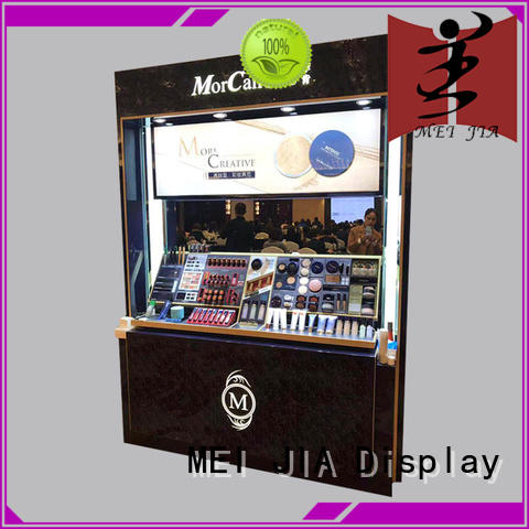 customized acrylic display stands for sale for exclusive shop MEI JIA Display