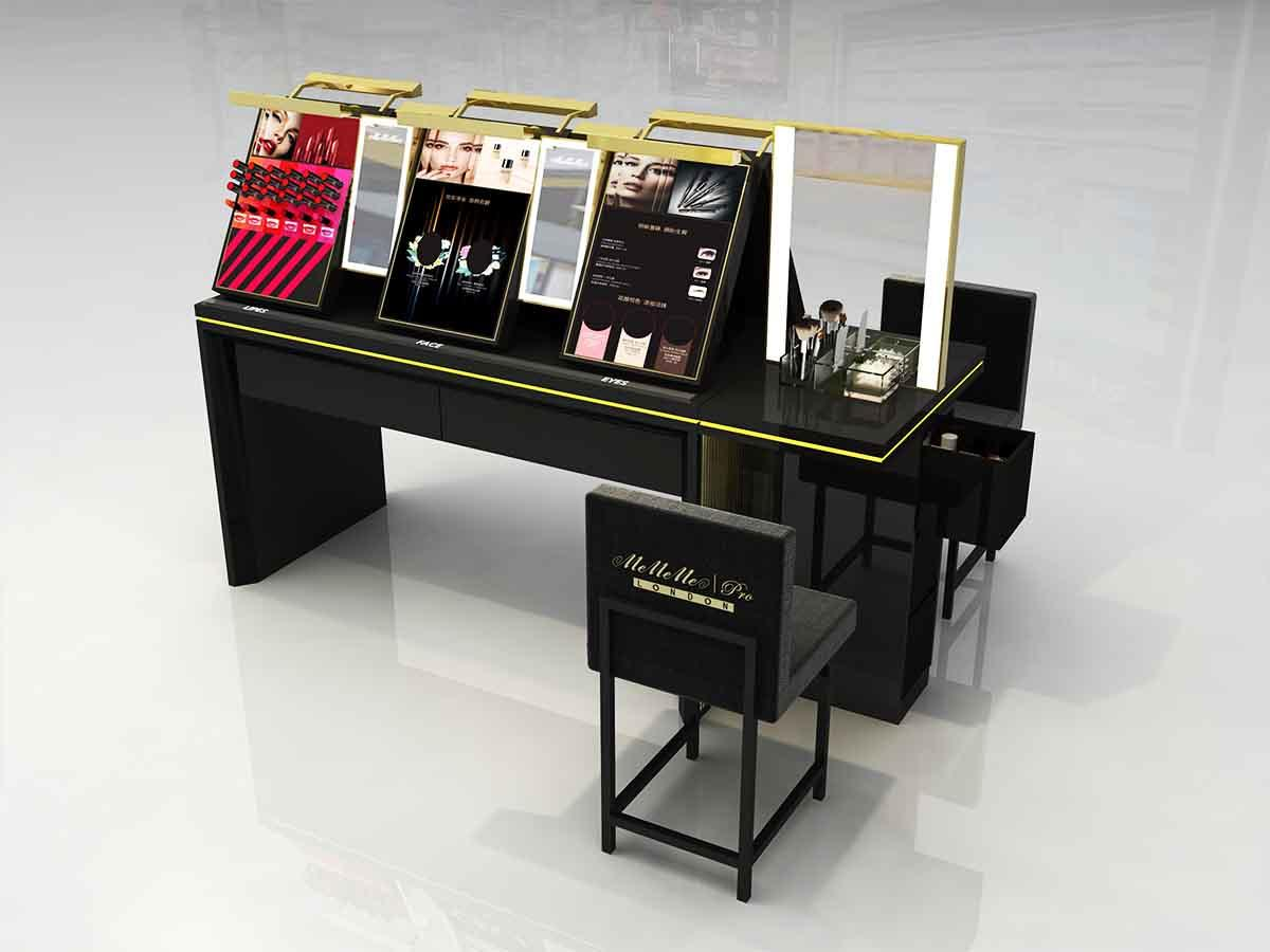 MEI JIA Display care acrylic cosmetic display stand holder for shoppe-2