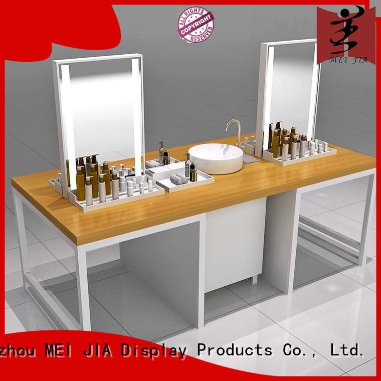 MEI JIA Display table cosmetic showcase for brand for counter