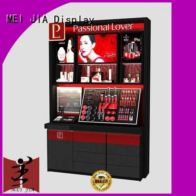 MEI JIA Display cosmetic acrylic makeup holder with hook for shop
