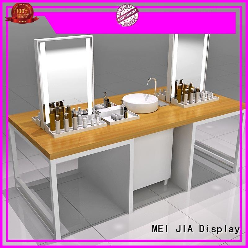 Custom beauty display stands cabinet manufacturers for shoppe