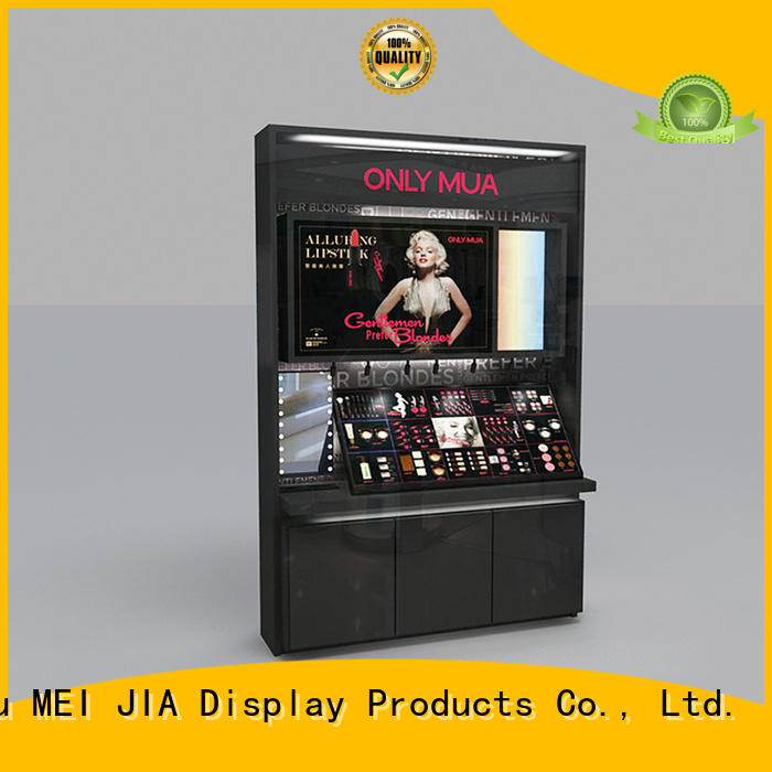 MEI JIA Display customized retail makeup display stand for business for shop