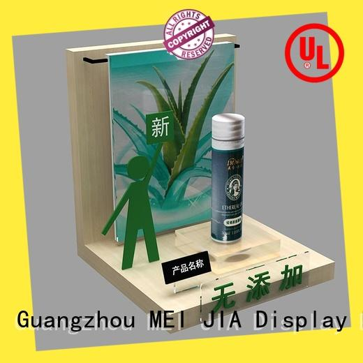 MEI JIA Display care cosmetic product display manufacturers for shop