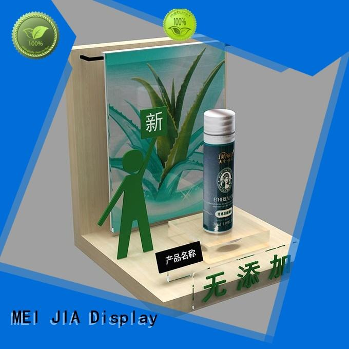MEI JIA Display stand cosmetics acrylic display factory for showroom