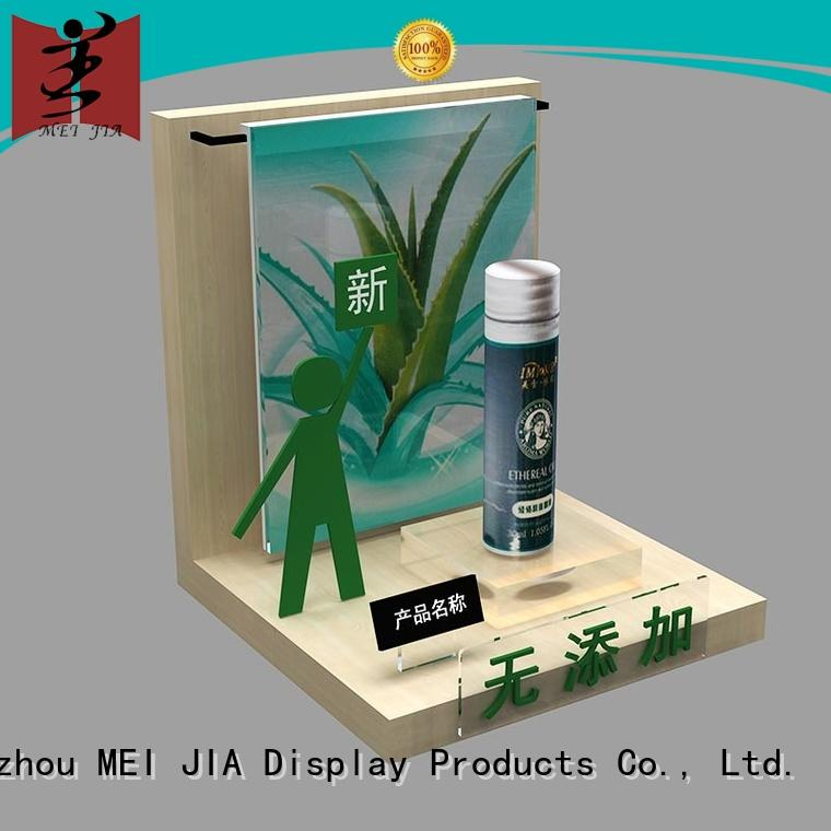 Acrylic Display with Wood Display Holder