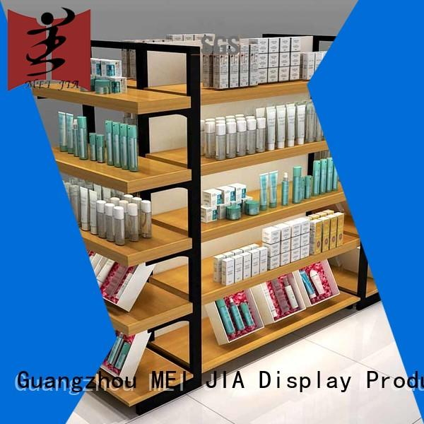 MEI JIA Display shelves cosmetic retail display with hook for showroom