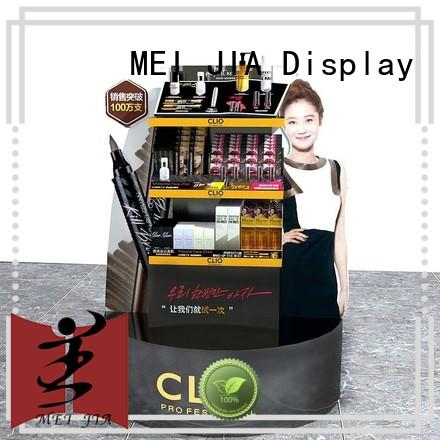 MEI JIA Display cosmetic custom acrylic display manufacturer for shop