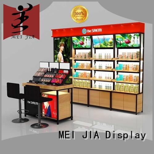 display makeup retail display manufacturer for shoppe MEI JIA Display