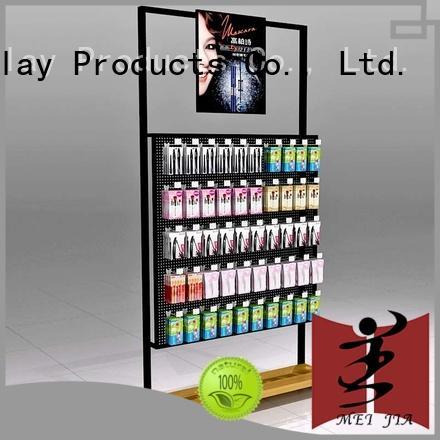 MEI JIA Display fashional makeup display unit shelves for shop