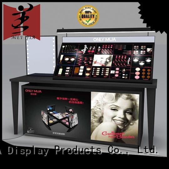 try cosmetic product display holder for exclusive shop MEI JIA Display