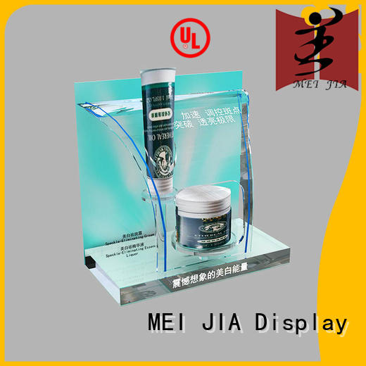 MEI JIA Display cabinet acrylic cosmetic display stand for brand for shoppe
