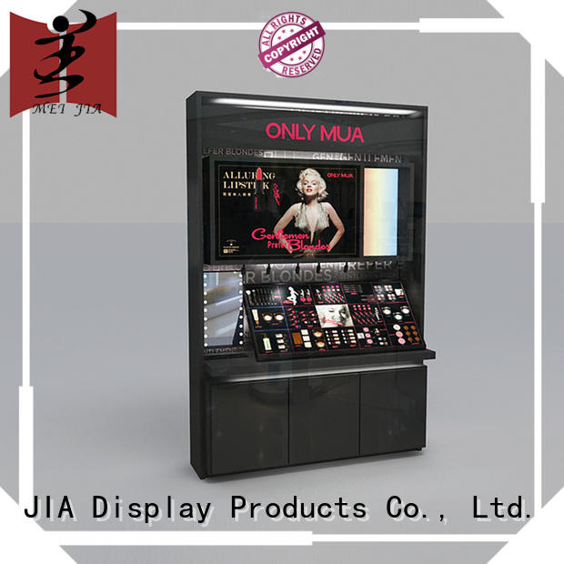 MEI JIA Display backside makeup display cabinet cabinet for counter