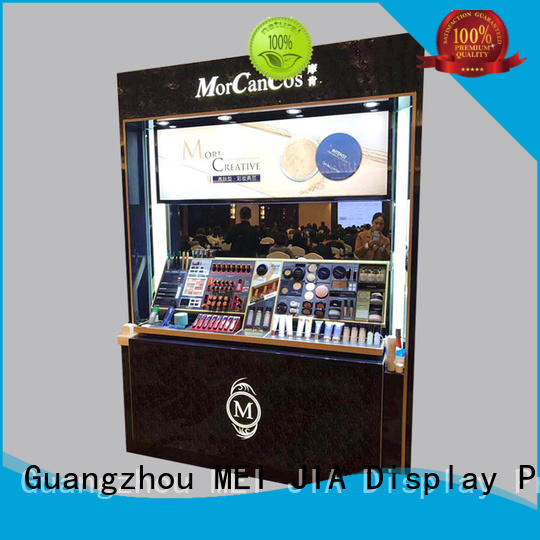 MEI JIA Display Custom retail makeup display stand factory for exclusive shop