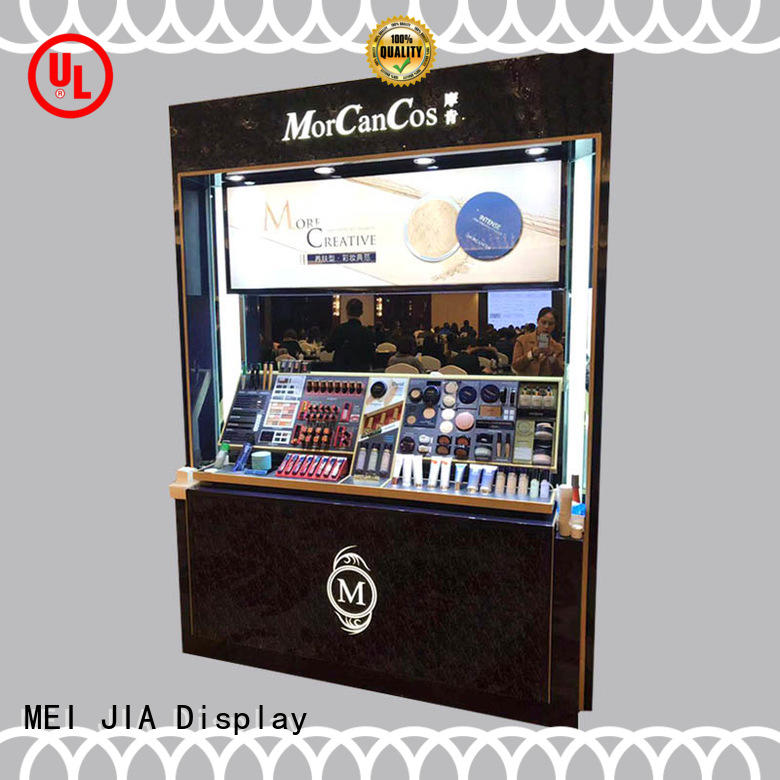 MEI JIA Display cosmetics retail makeup display stand company for counter