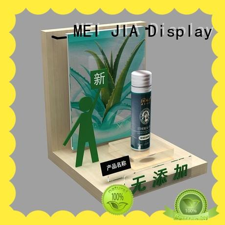 MEI JIA Display Wholesale retail makeup display stand suppliers for shop