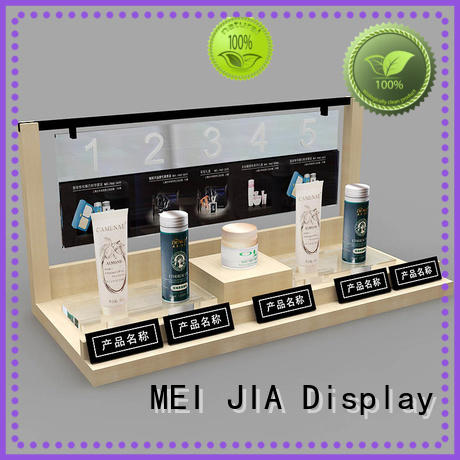 MEI JIA Display cosmetics acrylic makeup display supply for shoppe